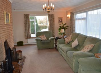 Thumbnail 4 bed detached bungalow for sale in Church Road, Clenchwarton, King's Lynn
