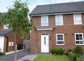 Thumbnail 3 bedroom semi-detached house for sale in Peter Fletcher Crescent, Elworth, Sandbach