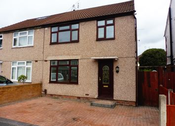 Thumbnail 3 bed semi-detached house for sale in Maxwell Close, Whitby, Ellesmere Port