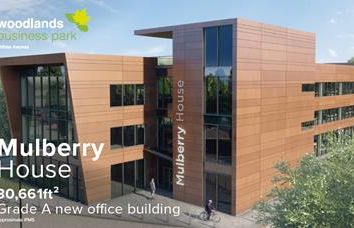 Thumbnail Office to let in Mulberry House, Woodlands Business Park, Linford Wood, Milton Keynes