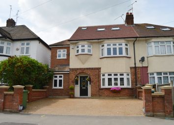 Thumbnail 4 bed semi-detached house for sale in Hospital Crescent, Gubbins Lane, Harold Wood, Romford