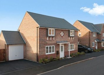 Thumbnail 4 bed detached house for sale in Tiber Road, North Hykeham, Lincoln