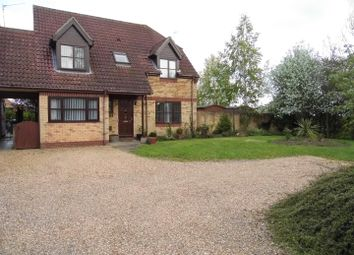 Thumbnail 5 bedroom property for sale in Sluice Road, St. Germans, King's Lynn