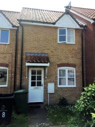 Thumbnail 2 bed terraced house for sale in Lime Grove, Thetford