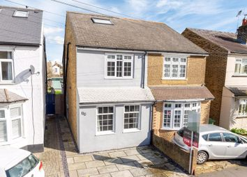 Thumbnail 3 bed semi-detached house for sale in Russell Road, Walton-On-Thames