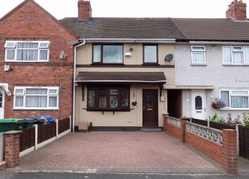 Thumbnail 2 bed terraced house for sale in Coronation Road, Wednesbury, West Midlands