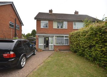 Thumbnail 3 bed semi-detached house for sale in Hollycroft Crescent, Hinckley