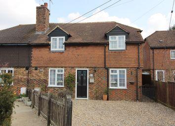 Thumbnail 3 bed semi-detached house for sale in Chulkhurst, Biddenden, Ashford