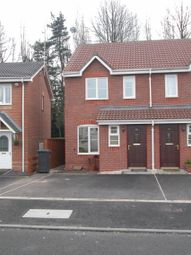 Thumbnail 2 bed semi-detached house to rent in Wilson Close, Mickleover, Derby
