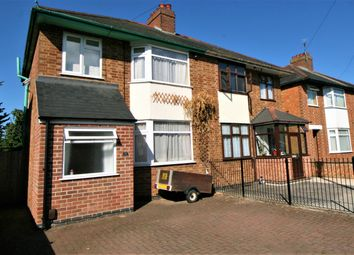 Thumbnail 3 bed semi-detached house for sale in Shuckburgh Crescent, Rugby