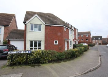 Thumbnail 4 bed detached house for sale in Constable Way, Brough
