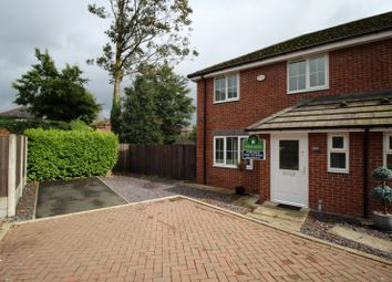 Thumbnail 3 bed semi-detached house for sale in Knights Grove, Swinton, Manchester, Greater Manchester