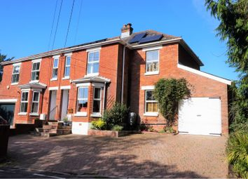Thumbnail 4 bed semi-detached house for sale in Satchell Lane, Hamble