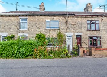 Thumbnail 2 bed terraced house for sale in Church Drove, Outwell, Wisbech