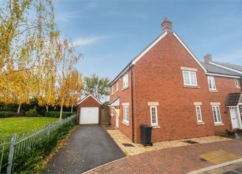 Thumbnail 3 bed end terrace house for sale in Theillay Close, Nether Stowey, Bridgwater, Somerset