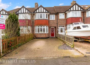 Thumbnail 3 bed terraced house for sale in Hughenden Road, Worcester Park