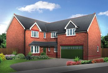 Thumbnail 5 bed detached house for sale in Sandy Lane, Chester, Cheshire