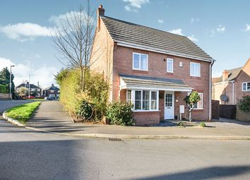 Thumbnail 3 bed detached house for sale in Holly Leaf Road, Hucknall, Nottingham