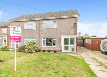 Thumbnail 3 bed semi-detached house for sale in Kings Road, Glemsford, Sudbury