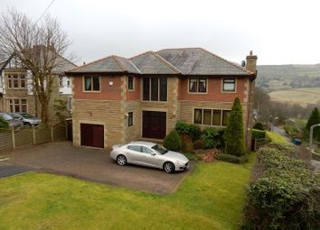 Thumbnail 5 bed detached house for sale in Newchurch Road, Higher Cloughfold, Rossendale