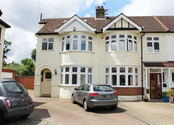 Thumbnail 4 bedroom end terrace house to rent in Greenway, Woodford Green
