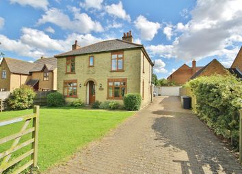 Thumbnail 3 bed detached house to rent in Heath Road, Warboys, Huntingdon