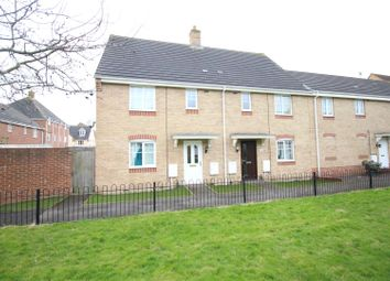 Thumbnail 3 bed end terrace house for sale in Endeavour Road, Swindon