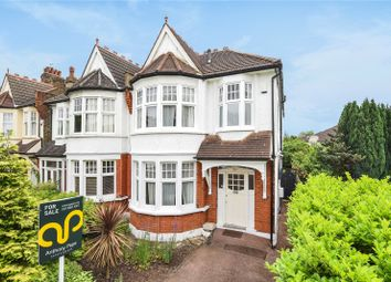 Thumbnail 4 bed semi-detached house for sale in St Georges Road, Palmers Green, London