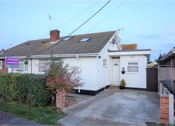 Thumbnail 3 bed semi-detached bungalow for sale in Hornsland Road, Canvey Island