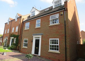 Thumbnail 5 bed detached house for sale in Ladymead Close, West Hunsbury, Northampton
