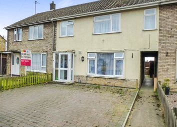 Thumbnail 3 bed terraced house for sale in Chestnut Crescent, Whittlesey, Peterborough
