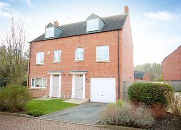 Thumbnail 3 bedroom semi-detached house for sale in Mint Garth, Knaresborough