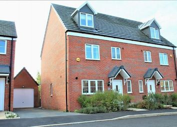 Thumbnail 4 bedroom semi-detached house for sale in Harrison Road, Harlestone Manor, Northampton