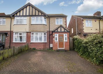 Thumbnail 3 bed semi-detached house for sale in Front Street, Slip End, Luton