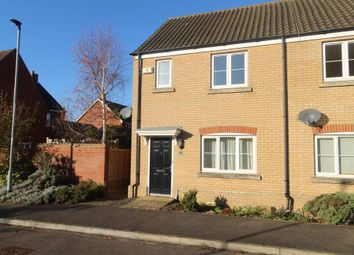 Thumbnail 2 bed end terrace house to rent in Bullrush Lane, Great Cambourne, Cambridge
