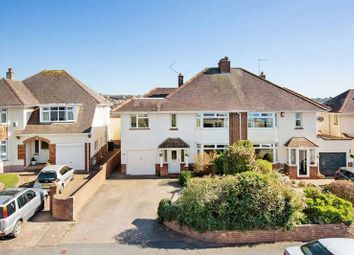 Thumbnail 5 bed semi-detached house for sale in Hulham Road, Exmouth