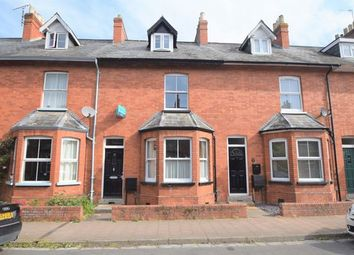 Thumbnail 3 bed terraced house to rent in Queen Street, Tiverton