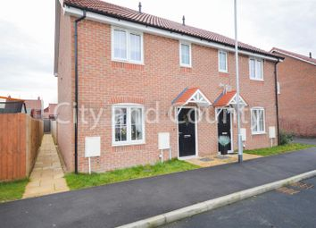 Thumbnail 3 bed semi-detached house for sale in Willow Court, Cowbit, Spalding