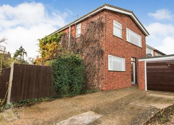 Thumbnail 3 bed detached house for sale in Ashby Road, Thurton, Norwich