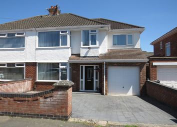 Thumbnail 4 bed semi-detached house for sale in Maple Grove, Whitby, Ellesmere Port