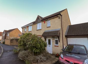 Thumbnail 3 bed semi-detached house for sale in Heritage Close, Peasedown St John, Bath