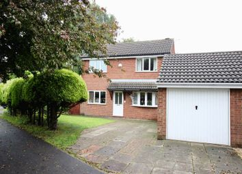 Thumbnail 4 bedroom detached house for sale in Wolsey Way, Lincoln