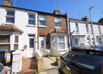 Thumbnail 3 bed terraced house to rent in Buckingham Road, Margate