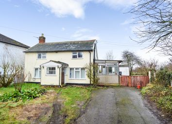 Thumbnail 2 bed cottage for sale in Clare Road, Ovington, Sudbury
