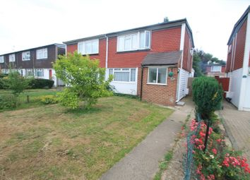 Thumbnail 3 bed semi-detached house for sale in Hulcombe Walk, Aylesbury