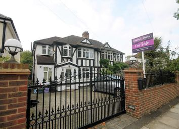 Thumbnail 4 bed semi-detached house for sale in Westcoombe Avenue, Raynes Park