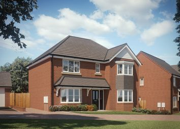 Thumbnail 4 bedroom detached house for sale in Synehurst Avenue, Evesham, Worcestershire