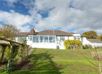 Thumbnail 4 bed detached bungalow for sale in Scotland Common, Temple Ewell, Dover