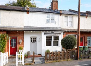 Thumbnail 2 bed terraced house for sale in School Road, East Molesey, Surrey