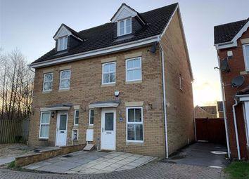 Thumbnail 3 bed town house for sale in Llys Ael Y Bryn, Parc Brynheulog, Swansea